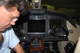 PH-ORJ cockpit